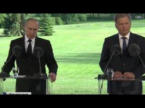 Путин и Ниинисте поговорили о санкциях и выключенных транспондерах