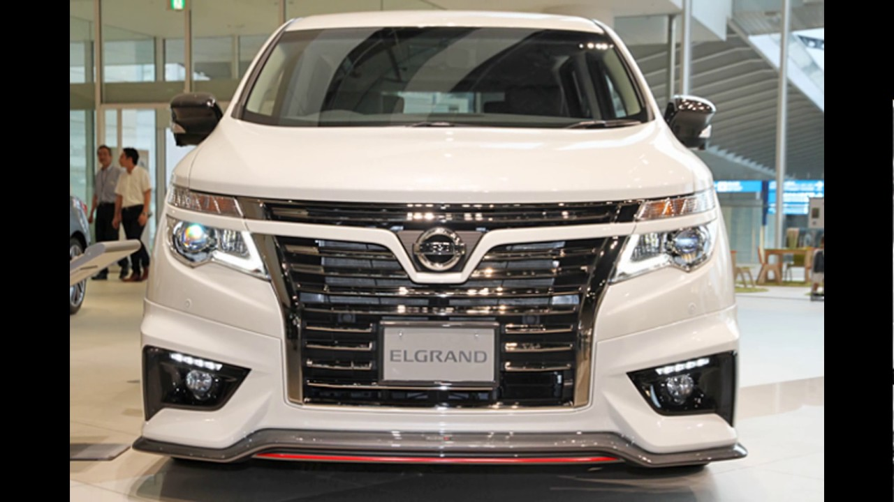 New 2018 Nissan Elgrand Youtube