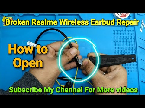 Broken Realme Wireless Earbuds Repair One Side Not Working Solved Youtube