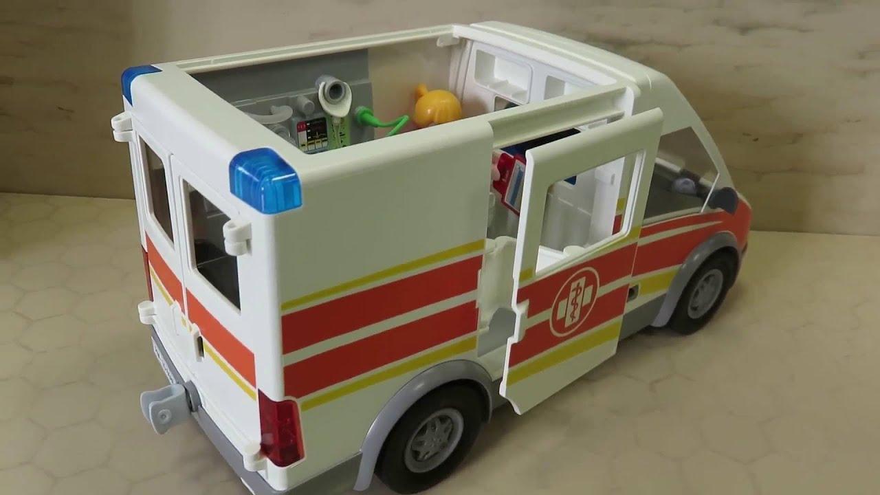 playmobil krankenwagen ambulance 6685 pr sentiert von. Black Bedroom Furniture Sets. Home Design Ideas