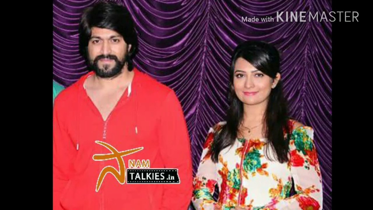 Rocking star Yash birthday celebration with wife | Yash | Radhika Pandit |