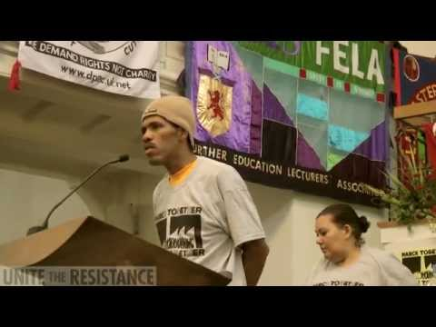 Unite the Resistance Conference - Opening Plenary - 15 Nov 2014