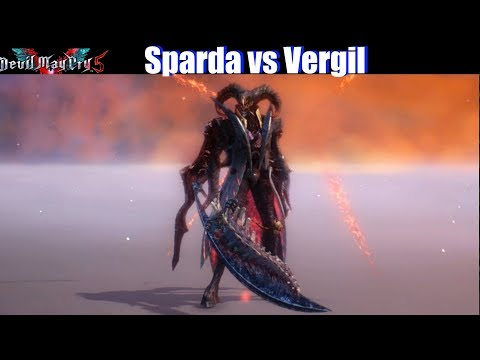 DMC 5 Sparda vs Vergil (Dante Dark Knight Devil Trigger ) - Devil May Cry 5 2019 thumbnail