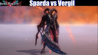 DMC 5 Sparda vs Vergil (Dante Dark Knight Devil Trigger ) - Devil May Cry 5 2019