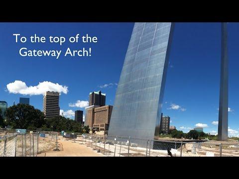Trip to the Gateway Arch, St  Louis, MO