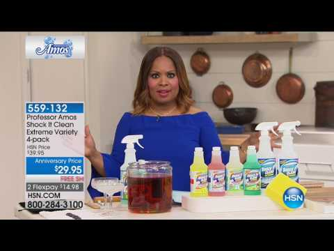 HSN   Home Solutions featuring Professor Amos Anniversary 08.09.2017 - 03 PM
