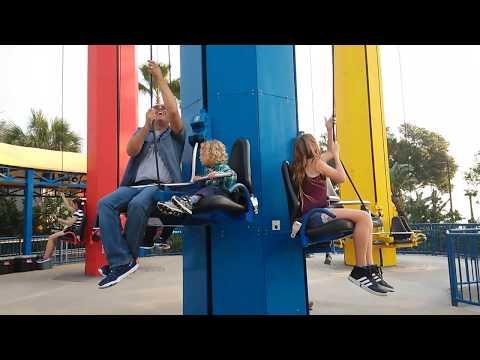 Legoland park  Kids Power Tower ride
