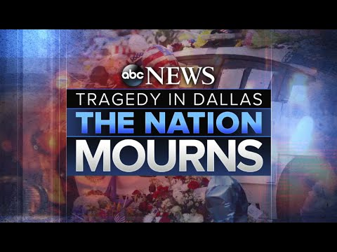 Dallas Memorial Service Honors Fallen Officers