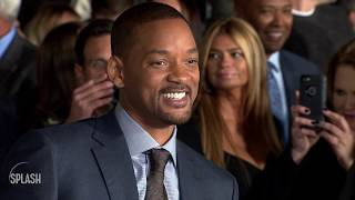 Will Smith surprised Aladdin cast with mac and cheese feast!| Daily Celebrity News | Splash TV