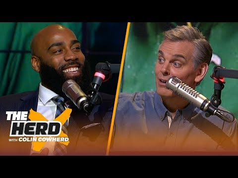 DeAngelo Hall on the Packers being a good HC destination, talks Cowboys vs. Eagles   NFL   THE HERD