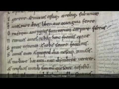 An introduction to Medieval scripts - YouTube