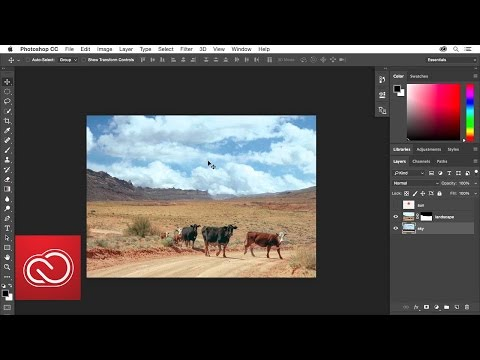 How To Use Layer Masking: Photoshop | Adobe Creative Cloud