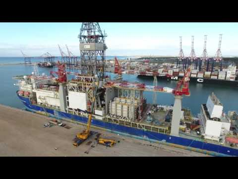 Drone Video - Titanium Explorer VANTAGE DRILLING