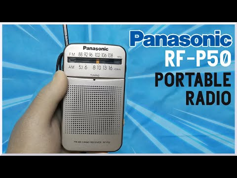 Panasonic RF-P50 Portable Radio | Review and Testing