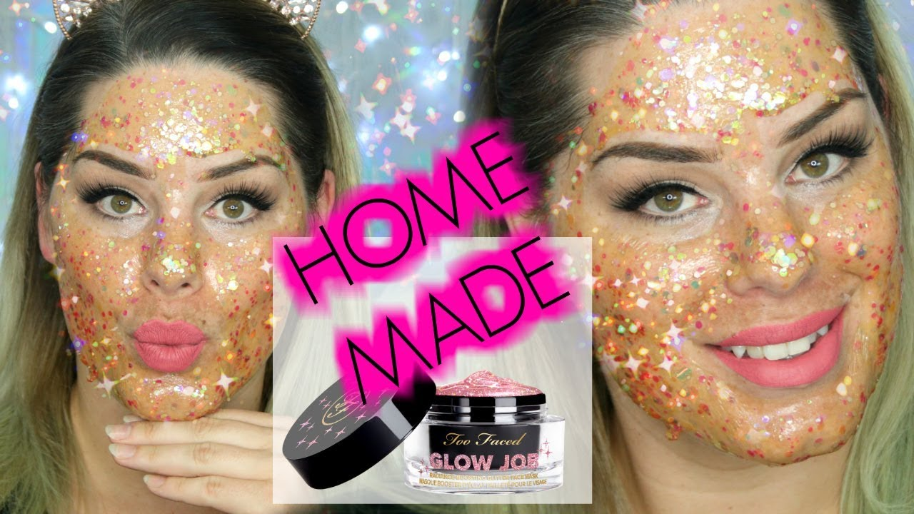 foto Too Faced and GlamGlow To Release Glitter Face Masks