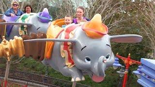 Favorite Disney World Rides | Kinder Playtime Walt Disney World Celebration Trip Vlog Part 7