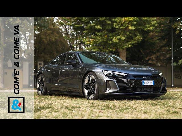 AUDI RS e-tron GT | Com'è & Come va