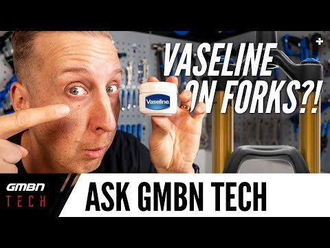 Can You Use Vaseline On Mountain Bike Suspension Forks?   Ask GMBN Tech