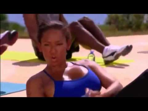 Mel B   10 Minutowy Trening Brzucha #1