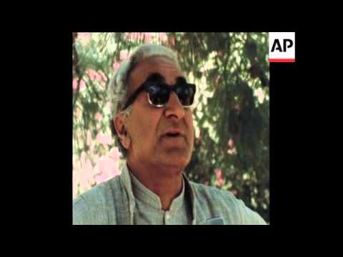 SYND 27-4-72 INTERVIEW WITH ABDUL WALI KHAN, LEADER OF INDEPENDENCE MOVEMENT