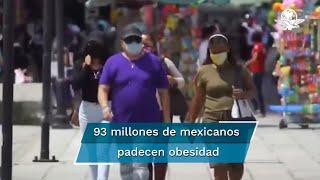 Salomón Jara Cruz, senador de la República por Oaxaca, presentó tres iniciativas para elevar a nivel federal la prohibición de la venta de refrescos y alimentos ultraprocesados a personas menores de 18 años