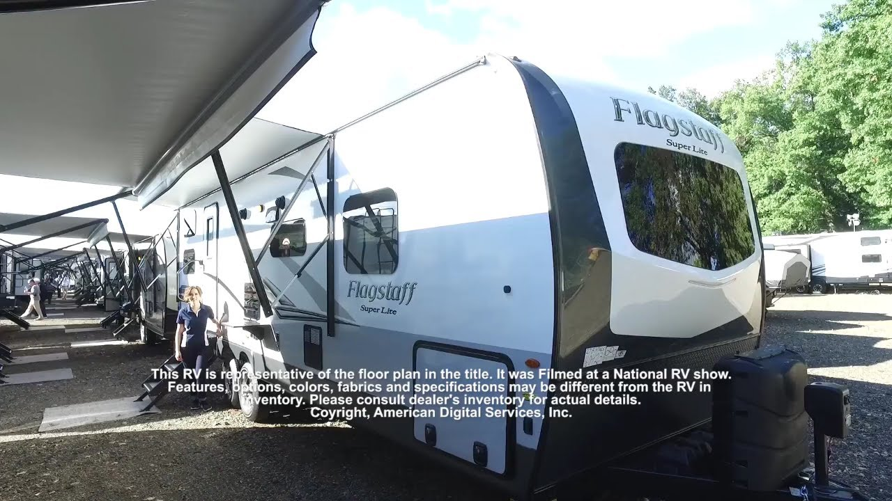 New 2019 Forest River RV Flagstaff Super Lite 27BHWS Travel