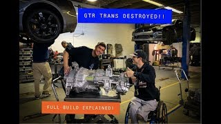 I Destroyed Another R35 GTR Transmission!! Finding Broken Gears and DCT Trans Explained!