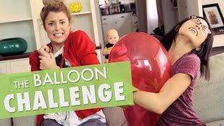 BALLOON CHALLENGE w/ ANNA AKANA