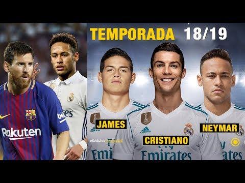 Qué pasará si Neymar llega al Real Madrid y regresa James en 2018