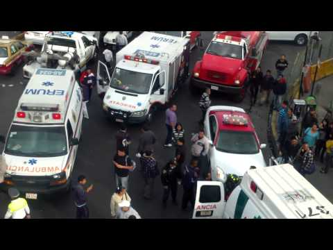 Accidente Indios Verdes 21/04/12
