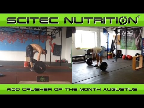WOD CRUSHER of the month: Augusztus