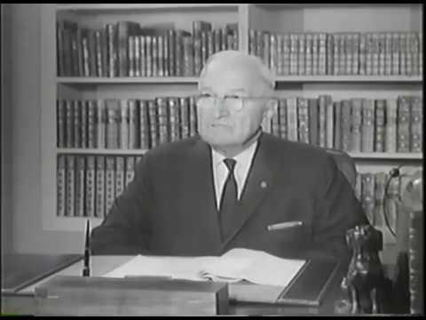 MP2002-344 Former President Truman Discusses The Establishment Of Israel