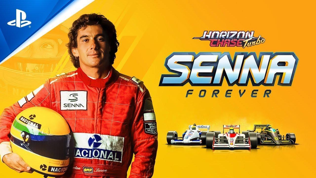 Horizon Chase Turbo: Senna Sempre - Trailer das Features    PS4