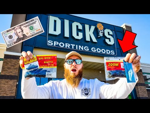 $25 Winter Fishing BUDGET Shopping At Dick's