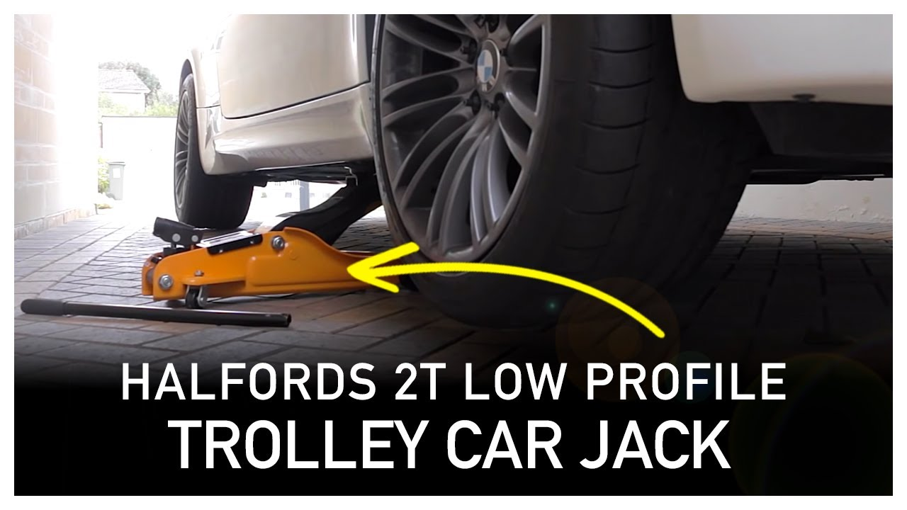 Halfords 2 Tonne Low Profile Trolley Car Jack Review Youtube
