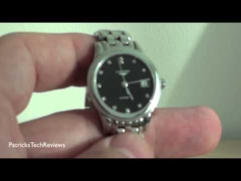 Longines Flagship Black Dial Diamond Ladies Watch L42744576 - watch review