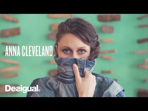 Anna Cleveland - Interview with Desigual in Barcelona