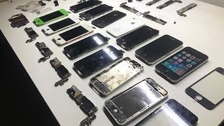 Heaps of iPhone Parts + Restoring an iPhone 4 + Testing More iPhone Logic Boards