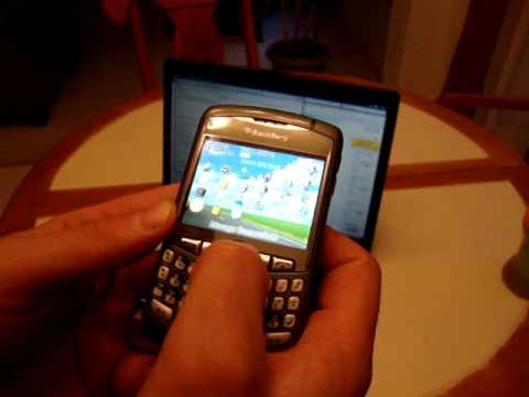 blackberry error message