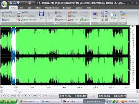 descargar music-editor-free version 2012.-9.2.1