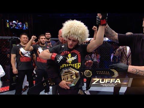 UFC 242: В замедленной съемке