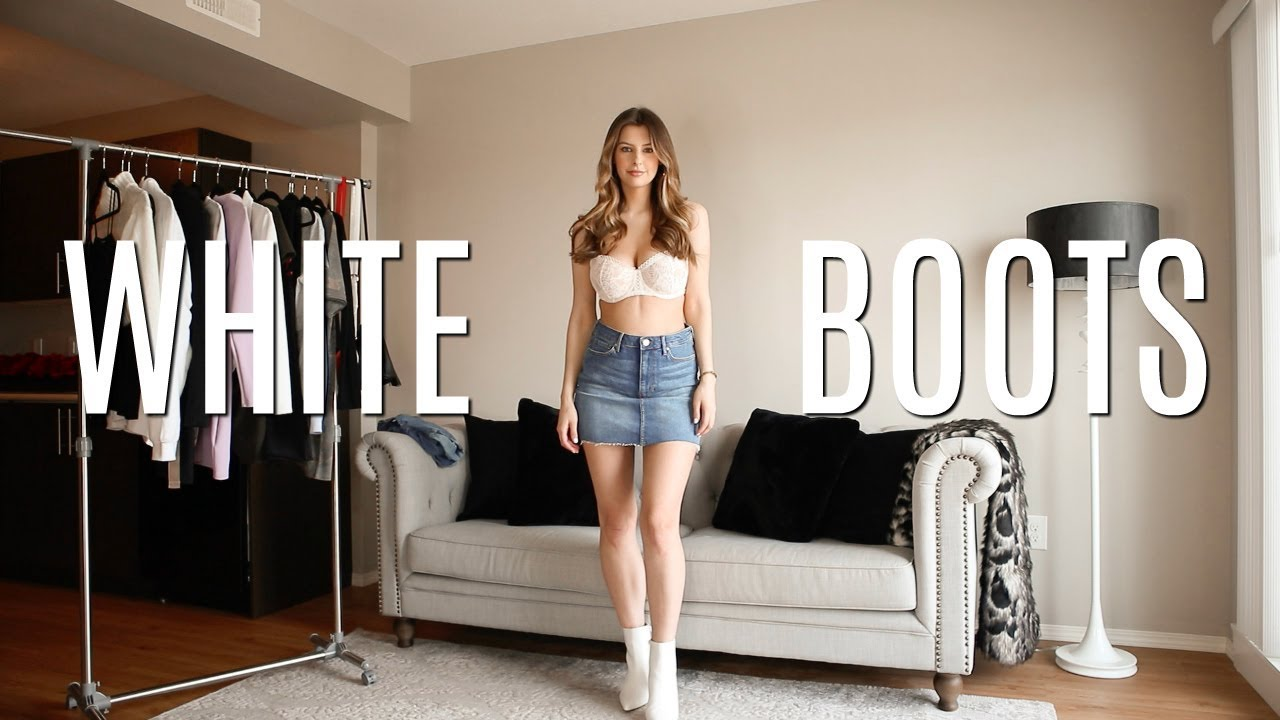 [VIDEO] - How to Style White Boots for the Spring & Summer 2
