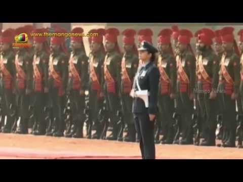 US President Obama receives Guard of Honour at Rashtrapati Bhavan | Pooja Thakur