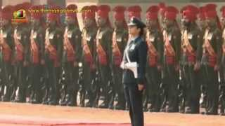 US President Obama receives Guard of Honour at Rashtrapati Bhavan
