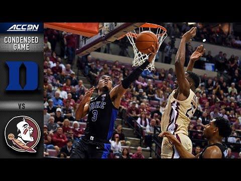 Duke vs. Florida State Condensed Game | 2018-19 ACC Basketball