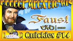 HUUUGE MEGA BIG WIN| LR Quickies #14- Ovo Casino- FAUST auf 5€