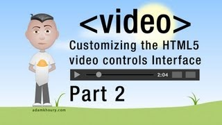 2. HTML5 Custom Video Player Seek Controls JavaScript Programming Tutorial