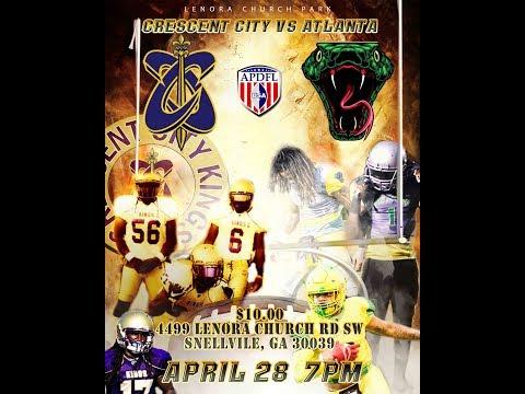 APDFL Crescent City Kings vs Atlanta Venom