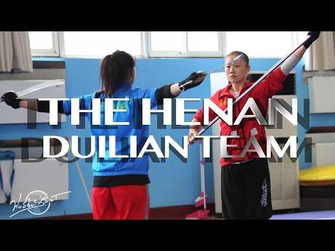 The Henan Duilian Team in practice by WUSHU SPORT