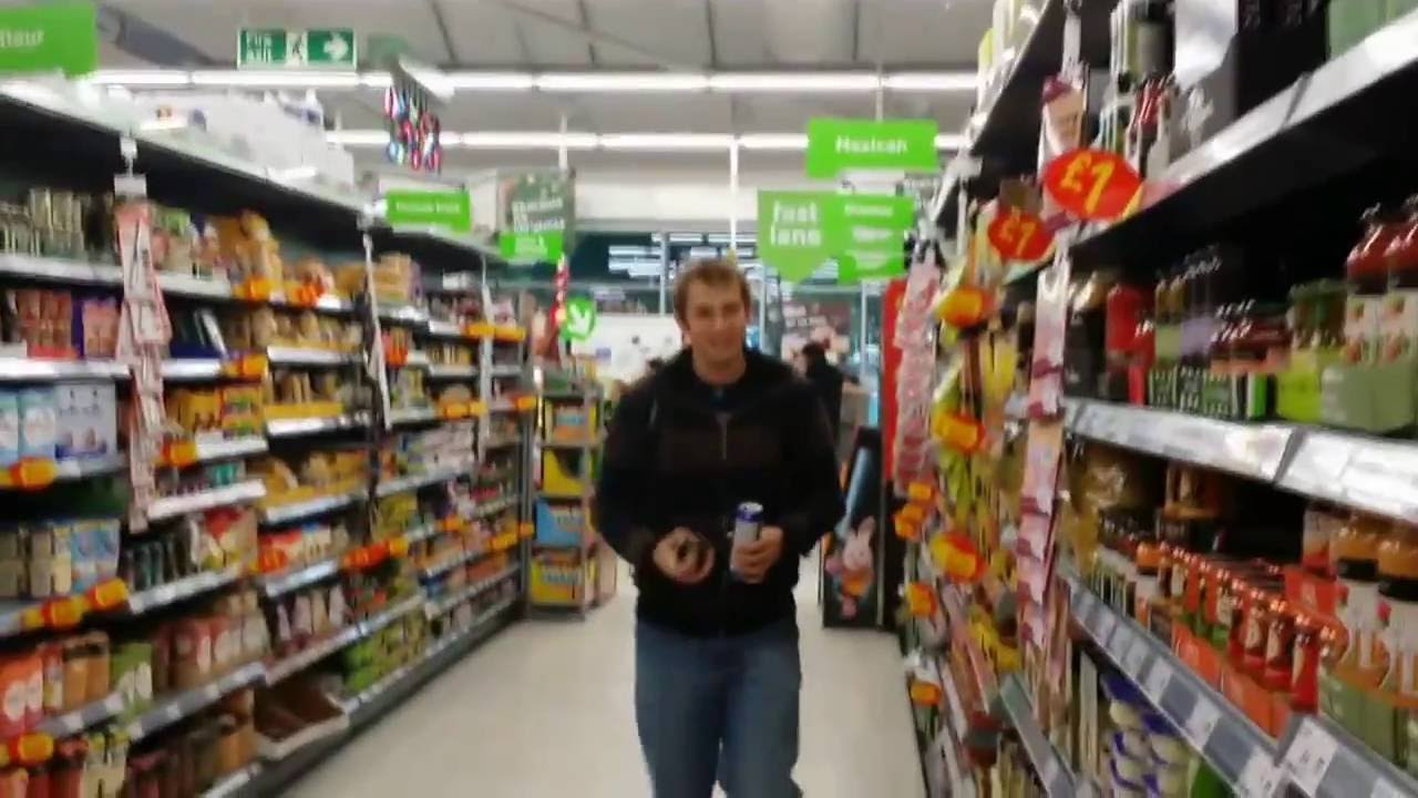 Shopping At Asda Aka Walmart Shepshed Leicestershire